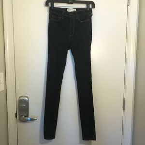 Abercrombie Super Skinny High Rose Jeans